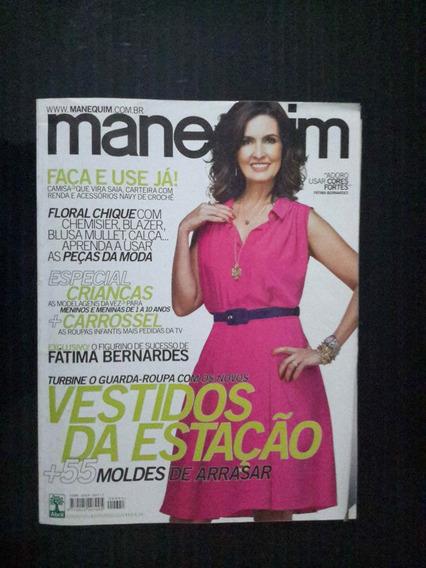 Revista Manequim - Edição 641 Outubro 2012 C/moldes