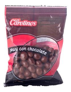 Mani Con Chocolate X 80 Gr - 3 Unidades - Los Carolinos