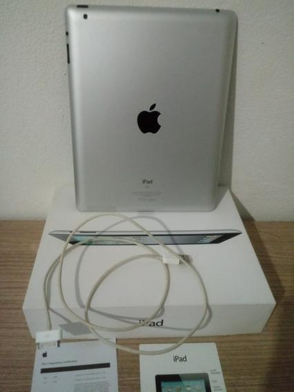 Tablet iPad 2 Original Wi-fi 16gb Black A1395 Na Caixa +capa