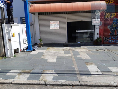 Salão Para Alugar, 48 M² Por R$ 1.100/mês - Jardim Realce - Suzano/sp - Sl0074