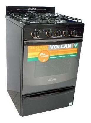 Cocina Volcan 88653v - 55cm Luz Y Encendido Electronico