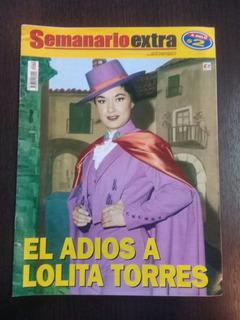 Semanario Extra Nº19 - El Adiós A Lolita Torres