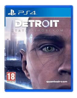 Juego Detroit Become Human Ps4 Original Físico Playstation 4