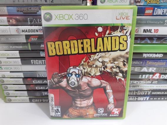 Jogo Borderlands Xbox 360 Original Game Mídia Física