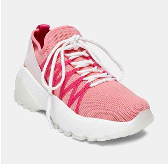 Tenis De Mujer Steve Madden Waden Pink Multi