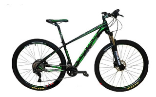 Bicicleta Mtb Venzo Atix R29 Full Deore 20 Vel Frenos Hidr.