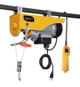 Polipasto Electrico Cable 20m Carga 500 A 1000 Kilos 110v