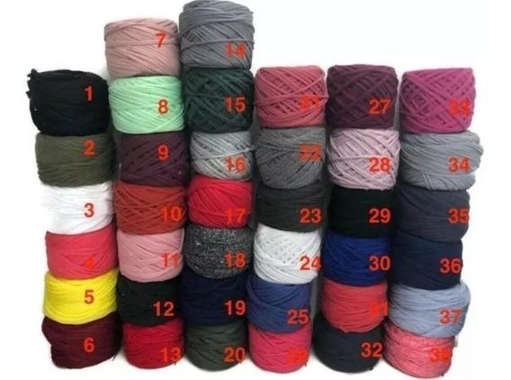 Trapillo De Colores Para Collar Bisuteria 10 Kilos+envio