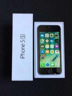 iPhone 5s 16gb Cinza Espacial Com Caixa Original Sem Riscos