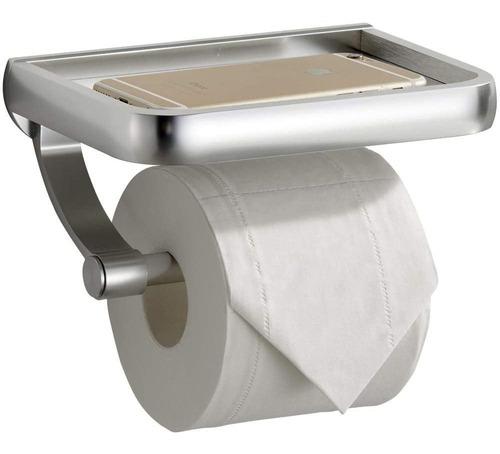 Uoco - Portarrollos De Papel Higienico Con Estante, Soporte