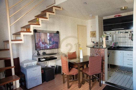 Apartamento Duplex À Venda, 39 M² Por R$ 375.000,00 - Vila Leopoldina - São Paulo/sp - Ad0199
