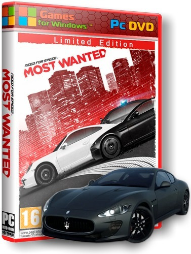 Need For Speed Most Wanted Edição Limitada Pc Dvd - Frete 8$