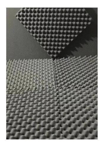 Kit 08 Placas Acústica 50 X 50 X 2 Cm Anti Chamas Cobre 2 M²