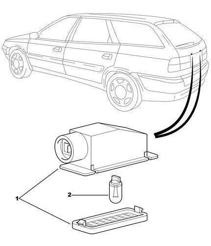 Faro Patente Citroën Xantia / Zx Promo! Citroen 634087