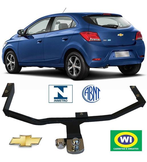 Engate Reboque Chevrolet Onix Wi Engates 500 Kg