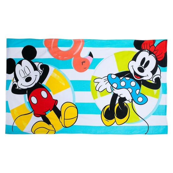Disney Store Toalla De Playa Mickey 1 X 1.70 Mts