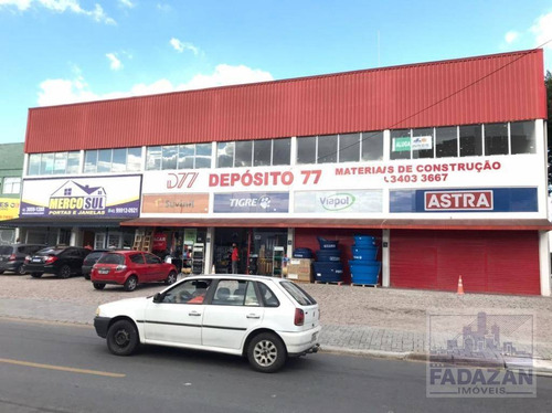 Imagem 1 de 12 de Excelente Sala / Sobreloja Para Alugar, 370 M² Por R$ 4.400/mês - Pineville - Pinhais/pr - Sa0048