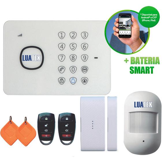 Kit Alarme Gsm Wireless Residencial Casa Comercial Luatek