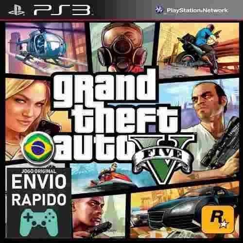 Grand Theft Auto 5 Gta 5 Jogos Ps3