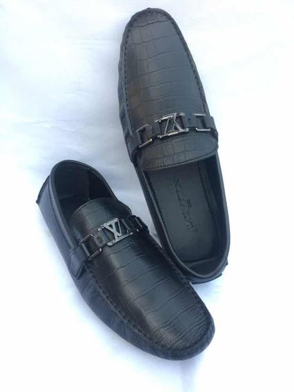 Zapatos Louis Vuitton Mocasines Tipo Cocodrilo