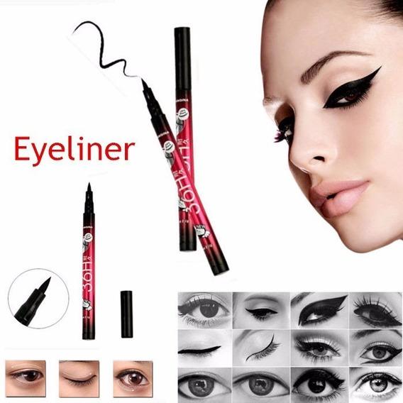 Delineador Caneta - 36h Duração Eyeliner Pencil Yanquina