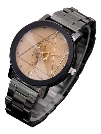 Relógio De Pulso Aço Inoxidável Retro Quartzo Analóg Branco