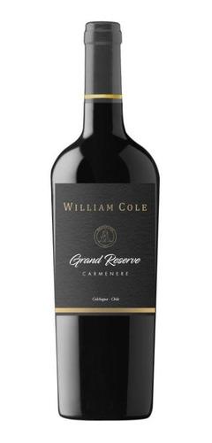 6 William Cole Grand Reserve Carmenere  Ref. Retail $42.000