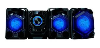 Sistema Hifi Jvc N538bu 95w Rms Bluetooth Dvd Fm Luces Loi