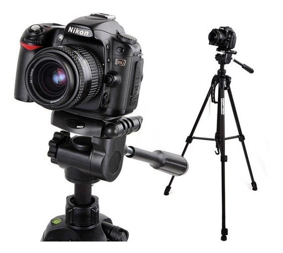 Tripé 1,80 Mt P/ Câmera Canon T4 T5 T6 T3i T4i T5i T6i T7i