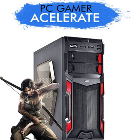Pc Gamer Acelerate Intel Core I5-7400 Gtx 1050ti 4g 1tb, 8gb