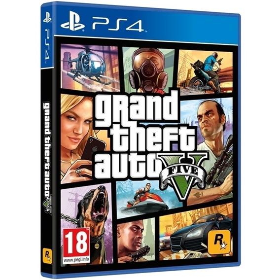 Grand Theft Auto V Gta 5 Ps4 Midia Fisica Original Nacional