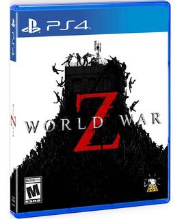 World War Z Ps4 Fisico Sellado Original En Stock !!!