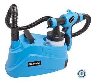 Máquina Pintar Eléctrica Gamma 900w Soplete Látex Pistola