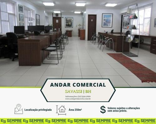 Imagem 1 de 15 de Andar Corporativo À Venda, 250 M² E 01 Vaga - Savassi - Belo Horizonte/mg - Ac0095