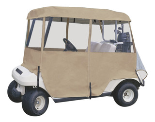 Cubierta Para Carros De Golf: 4 Lados