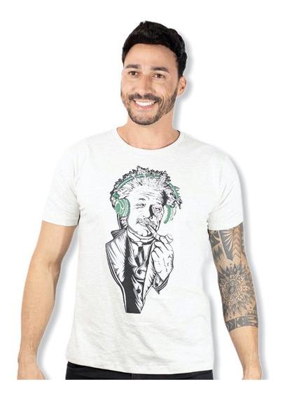Camiseta Masculina Manga Curta Slim Kanggu 10x Sem Juros