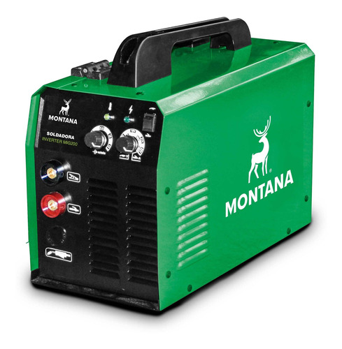 Soldadora Inverter Mig 200 Montana - 6 Meses De Garantía