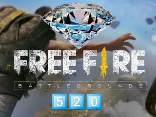 Diamantes Free Fire 520 + 52 En 15 Minutos