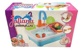 Lavavajillas Juliana Con Canilla Y Frutas Para Cortar Edu