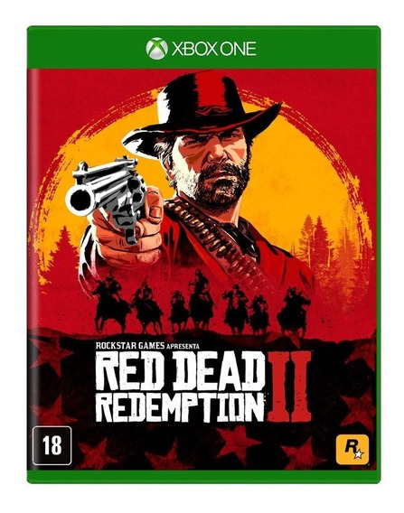 Red Dead Redemption 2 Xbox One Mídia Física Pronta Entrega!