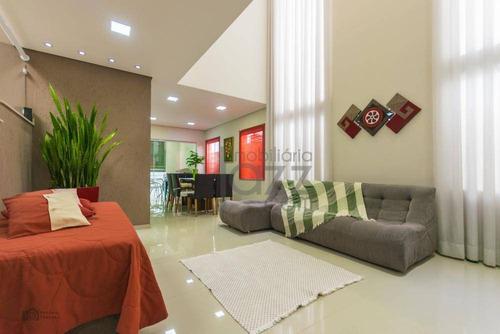 Imagem 1 de 30 de Casa Com 3 Dormitórios À Venda, 250 M² Por R$ 848.000,00 - Residencial Real Park Sumaré - Sumaré/sp - Ca4494