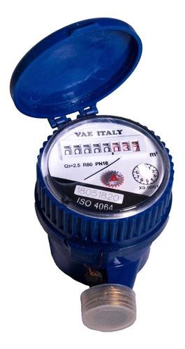 Medidor De Agua Vae Italy 1/2 Uso Interno