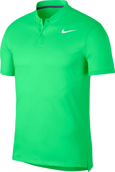 Camisa Polo Nike Golf Dry-fit Verde Limão - 850698-398