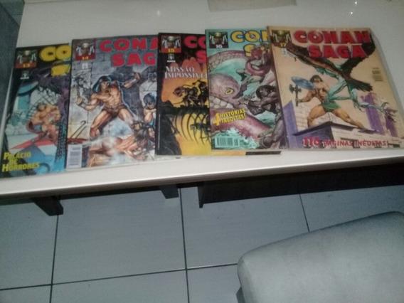 Lote Conan Saga C/ 17 Unid Do 01 Ao 17