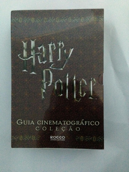 Livro - Box Harry Potter - Guia Cinematografico - Colecao