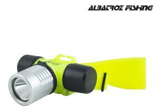 Lanterna De Cabeça Albatroz De Mergulho Ajustavel Tdq-001