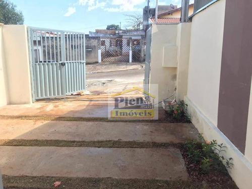 Casa Com 2 Dormitórios À Venda, 65 M²  - Jardim Viel - Sumaré/sp - Ca4027