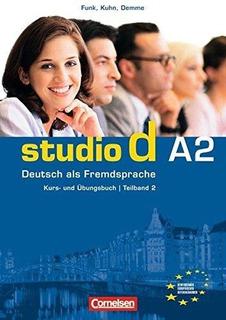 Studio D A2 - Kurs- Und Übungsbuch Libro 2 * Cornelsen