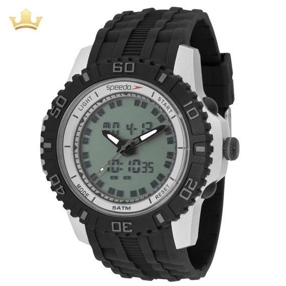 Relógio Speedo Masculino 81155g0evnp2 Com Nf