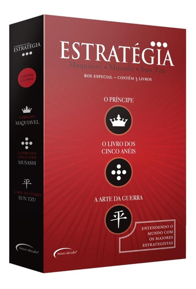 Box - O Essencial Da Estratégia - 3 Volumes